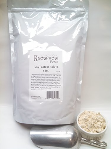 100% Pure Soy Protein Isolate - 5 lbs.