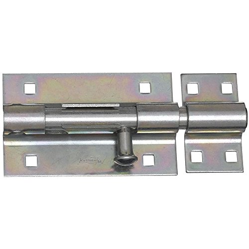 - National Hardware N151-118 V832 Extra Heavy Barrel Bolt in Zinc plated