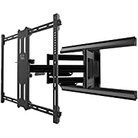 "Kanto Full Motion PMX700 Pro Series TV Mount – 42"" to 100"" Flat Panel – Easy Install – Black"
