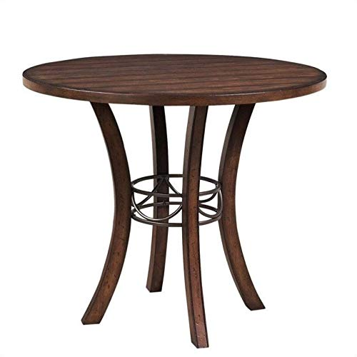 Hillsdale Furniture 4671CTB Cameron Wood Counter Height Table, Chestnut Brown