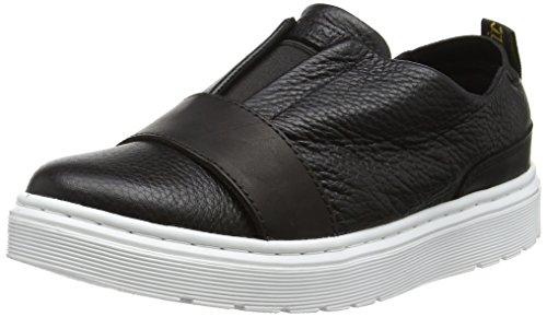 Dr. Martens Lylah, Zapatillas sin Cordones para Mujer Negro (Black 001)