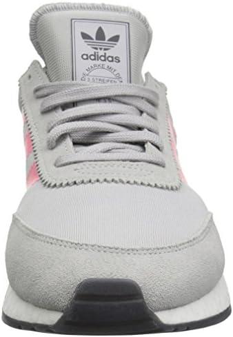 adidas Originals Women's I-5923 Running Shoe, Grey/Chalk Pink/Black, 10 M US