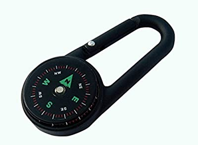 SanWay Multifunctional Mini Compass + Thermometer + Keychain