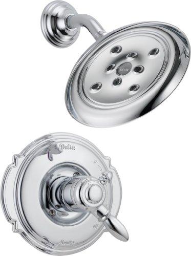 Delta T17255-H2O Victorian Monitor 17 Series Shower Trim, Chrome