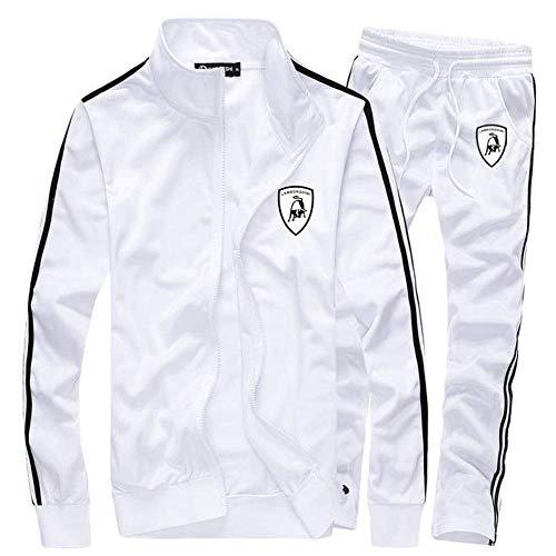 - men TrackSuit Jogging sweater jacket Bottom sport Suit sets pants trousers RYE14
