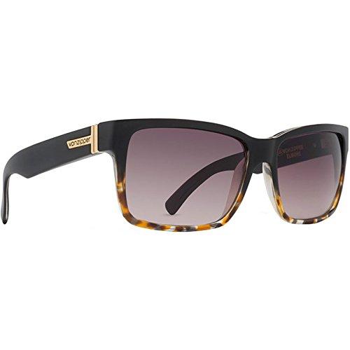 VonZipper Elmore Square Sunglasses, Tort Black, 61 - Elmore Sunglasses Von Zipper