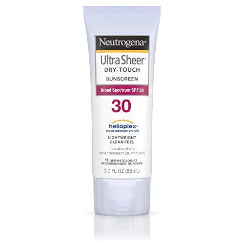 Neutrogena 30 Spf (Neutrogena Ultra Sheer Dry-Touch Sunscreen, Broad Spectrum Spf 30, 3 Fl. Oz.)