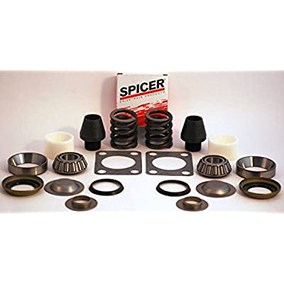 FORD DANA 60 KING PIN REBUILD KIT BEARING BUSHING SPRING GASKET DANA SPICER: Automotive