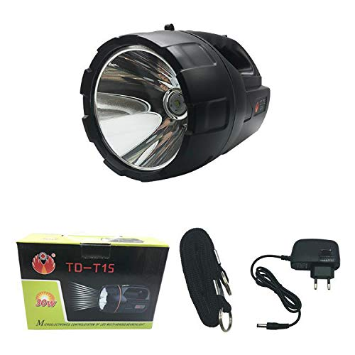 TYXZLF LED Charging Light Flashlight Portable Searchlight for Riding Night Road Adventure Camping by TYXZLF (Image #1)
