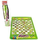 Folding Carpet Snakes & Ladders Ludo Mat Toy Games for Kids
