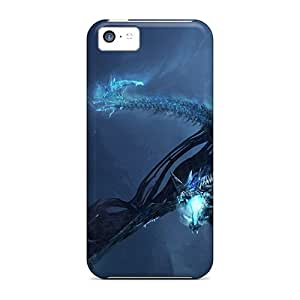 Iphone High Quality Tpu Case/ Blue Dragon Attack KEJ426lVjc Case Cover For Iphone 5c