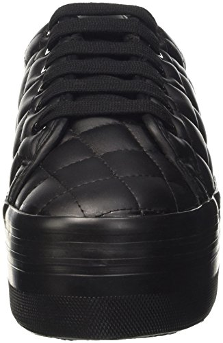 Jeffrey Campbell Zomg Quilted - Animadora Mujer Nero (Leather Black)