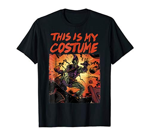Marvel Green Goblin This Is My Costume Graphic -
