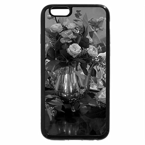 iPhone 6S Plus Case, iPhone 6 Plus Case (Black & White) - Sunday roses for Dn friends