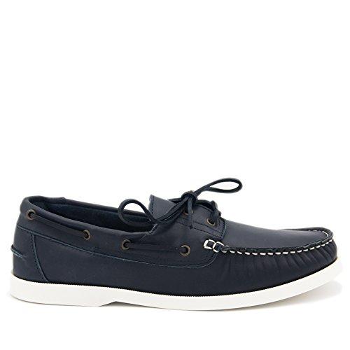 Castellanisimos Lederschuh Herren Bequeme Schuhe Blau