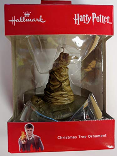 WB Warner Brothers Hallmark Harry Potter Sorting  Hat Tree Ornament