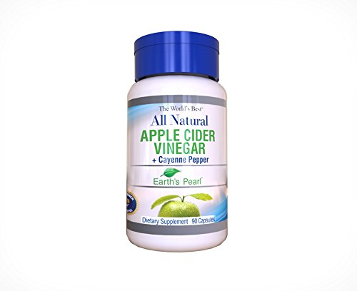 Cheap Organic Apple Cider Vinegar Supplement with Organic Cayenne Pepper – Easy to Swallow Capsules