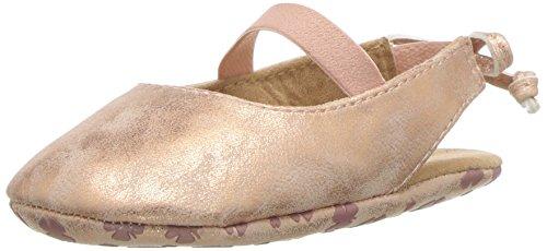 Lucky Brand Kids Girls' BRITLEY Crib Shoe, Rose, 3 Medium US Infant