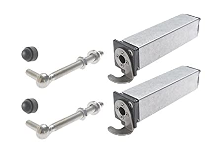 Spring Hinge For Garden Gates Up To 75 Lbs.