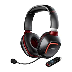 Creative Sound Blaster Tactic 3D Wrath Wireless Gaming Headset for PC and Mac with THX Studio Pro (GH0180)
