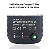 Swidan Li-ion Battery Charger for Black and