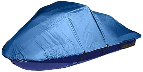 W1 Personal Watercraft Cover by Wake (Blue, Fits 1-2 People/106-115-Inch (Watercraft Cover)