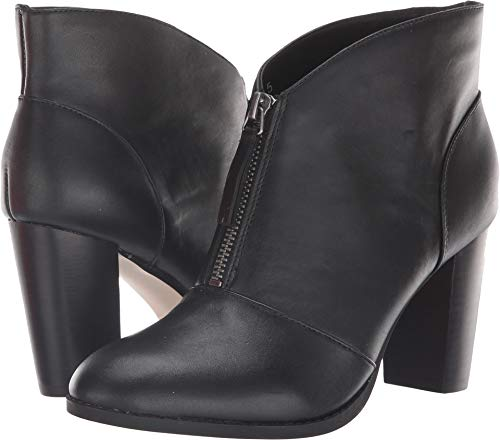 Athena Alexander Women's Rennes Ankle Boot, Black Leather, 6.5 M US