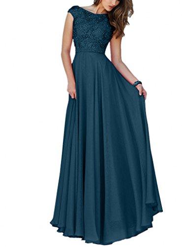Abendkleider Tinte Festlichkleider A Damen Steine Linie La Blau Kurzarm Promkleider mia Lang Brau Rock Abschlussballkleider qy1IwwOSAx