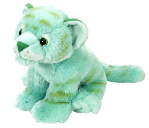 Wild Republic Tiger Plush, Stuffed Animal, Plush Toy, Gifts For Kids, Mint Green, Cuddlekins 12 -