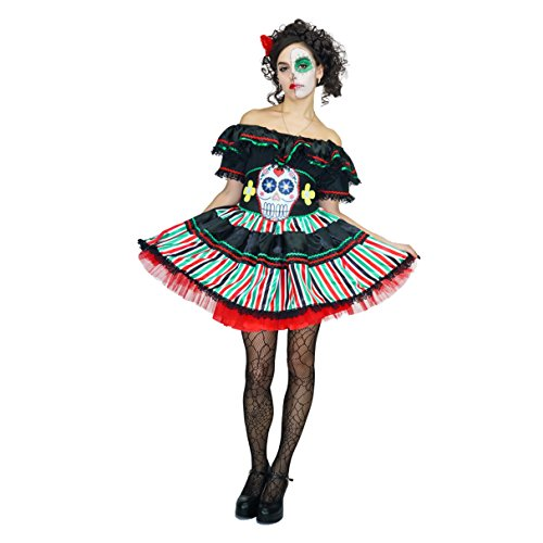 flatwhite Adult Halloween Women Sexy Zombie Bloody Nurse Costume -