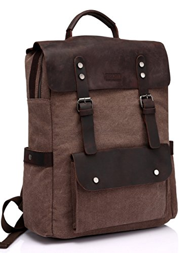 Travel Outdoor Computer Backpack Laptop bag 15.6'' (brown) - 2