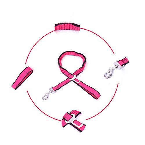 ACE Bilon Pet Car Seat Safety Belt Heavy Duty Adjustable Dog Leash Durable Elastic Vehicle Seatbelt Harness Traction Rope