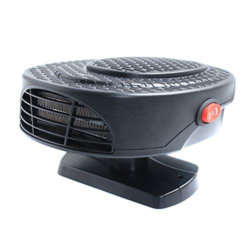 Ohwens Heater, Car Heater, Car Heater Defroster, Portable Car Electric Heater Fan 12V Automobile Functional Cool Warm Defogging Car Mini Heater Fan Free Rotation Heating Quickly, Low Noise: