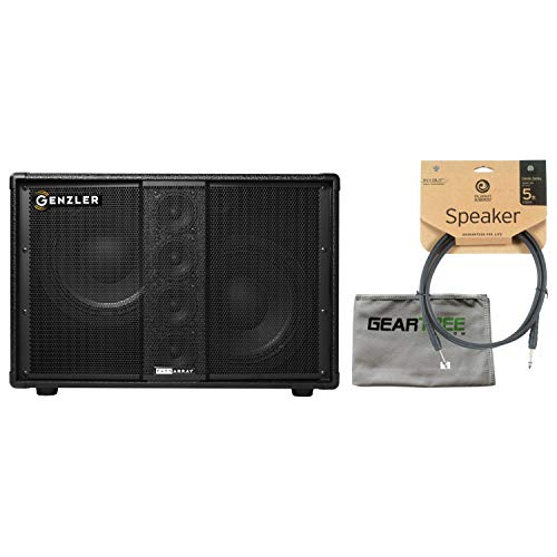 Genzler BA210-3 Bass Array Neo 2 x 10in w 4 x 3in Stack 500w 8 Ohm w/Polish Clo