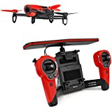Parrot Bebop Quadcopter Drone with Sky Controller Bundle (Red)