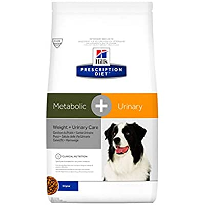 HILL'S PRESCRIPTION DIET Metabolic + Urinary Weight + Urinary Care Chicken Flavor Dry Dog Food