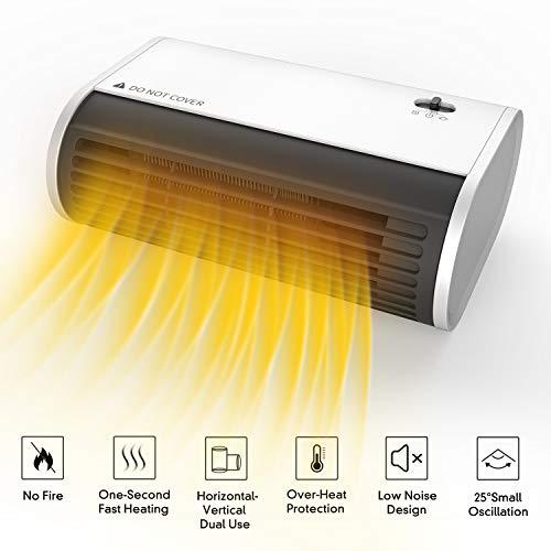 desktop electric heater - 9