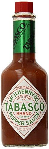 McIlhenny Co. Tabasco Pepper Sauce 12oz - One Bottle (Tabasco Avery Island Louisiana)