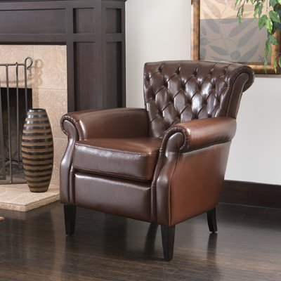 Nfusion 232936 Franklin Leather Club Chair