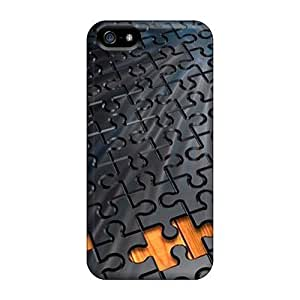 Mialisabblake MhvlomL1939wMfKy Case Cover Iphone 5/5s Protective Case Puzzle Pieces by icecream design