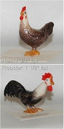 Hagen Renaker Rooster Leghorn Figurine Miniature Gift New Free Shipping 03159
