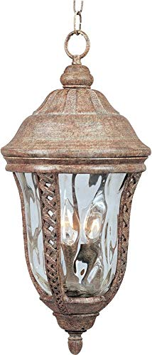 Hanging Whittier - Maxim Lighting 40210WGET Whittier VX 3-Light Outdoor Hanging Lantern Copper