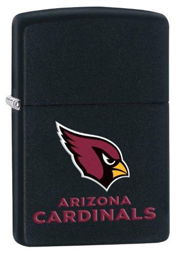Zippo Lighter - NFL Arizona Cardinals Black Matte (Arizona Zippo)