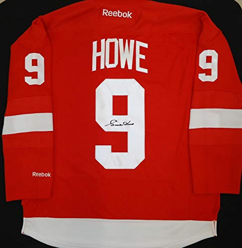 Gordie Howe Signed Jersey - Replica Home or Road) - Autographed NHL Jerseys