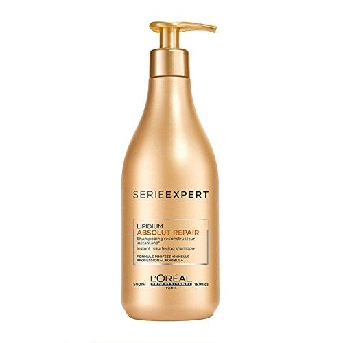 Gold Series 500 (L'Oreal Professionnel Serie Expert - Absolut Repair Lipidium Instant Resurfacing Shampoo 500ml/16.9oz)