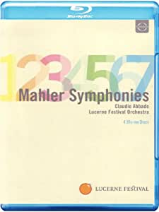 Abbado Conducts Mahler Symphonies 1-7 [Blu-ray] [Import]
