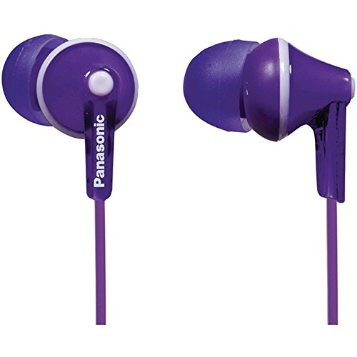 PANASONIC RP-HJE125-V HJE125 ErgoFit In-Ear Earbuds (Violet) Consumer electronics