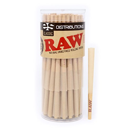 RAW Lean Pre Rolled Cones Filter product image