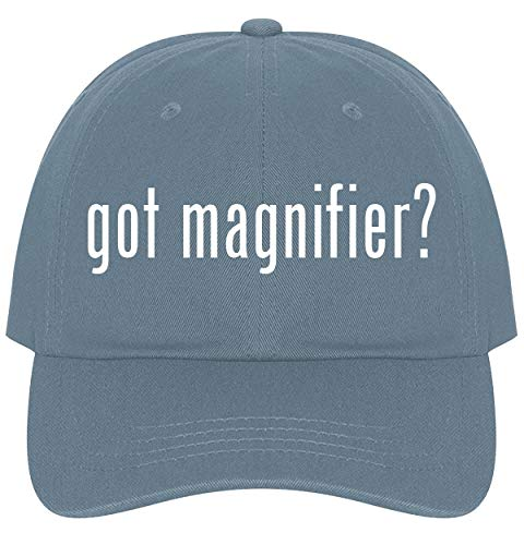 The Town Butler got Magnifier? - A Nice Comfortable Adjustable Dad Hat Cap, Light Blue