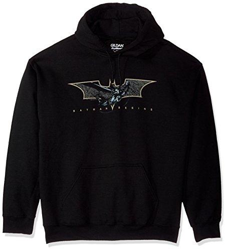 Trevco Men's Batman Begins Coming Through Hoodie Sweatshirt at Gotham City Store